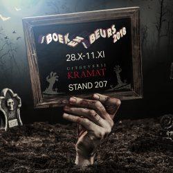 Kramat_Halloween-Boekenbeurs promo door MaryDes