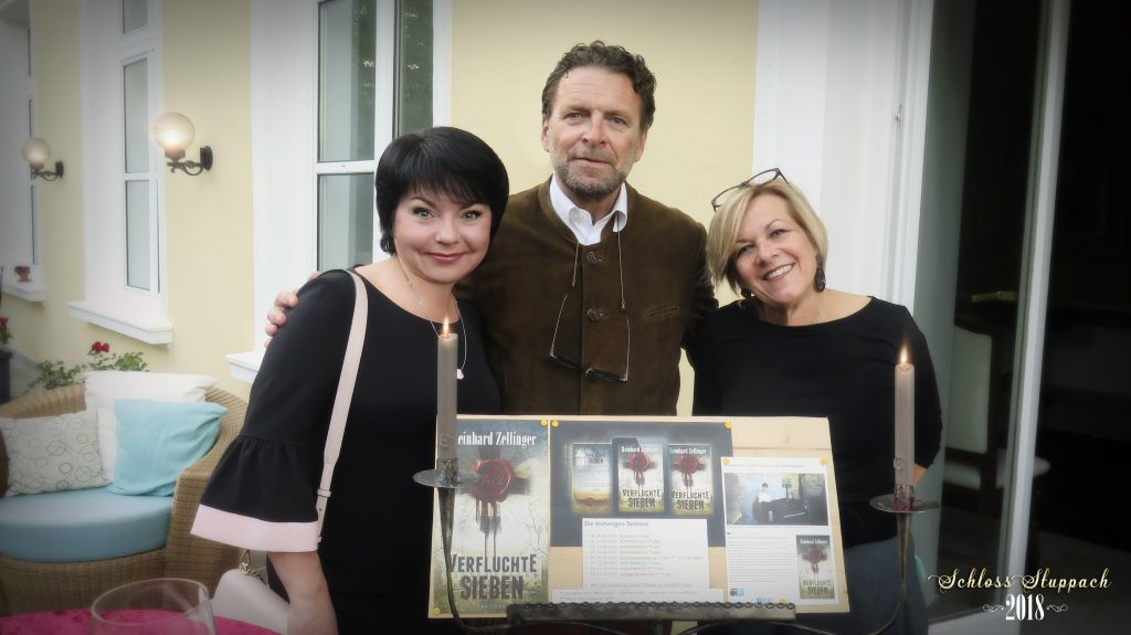 Schloss Stuppach 2018, with Reinhard and Rita Zellinger together with Maryna from MaryDes.