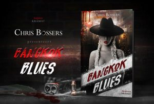 Chis Bosser's book cover design Bangkok Blues, created by MaryDes